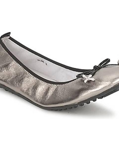 Strieborné topánky Mac Douglas