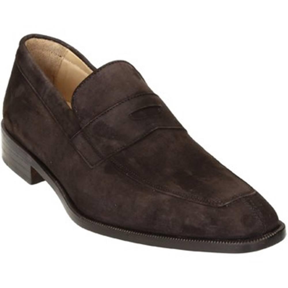 Leonardo Shoes Mokasíny Leonardo Shoes  PINA 8 CAMOSCIO TESTA DI MORO