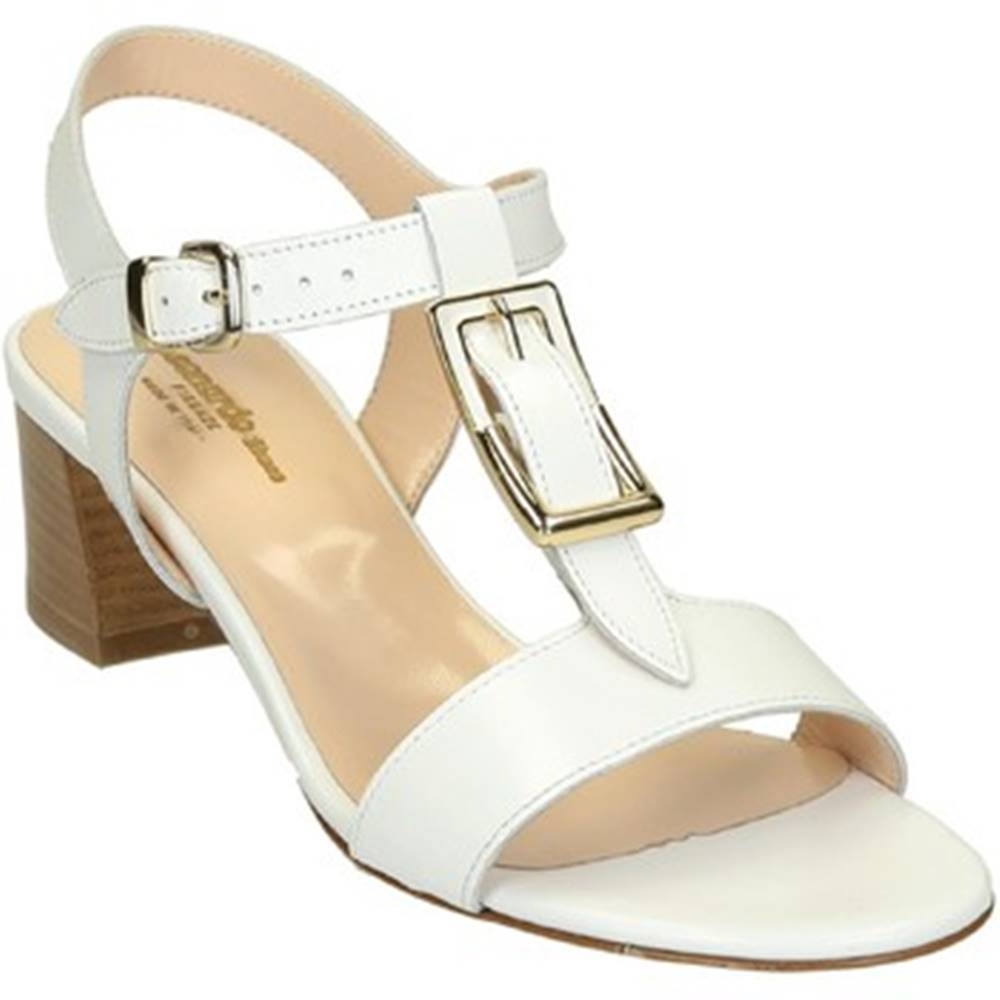 Leonardo Shoes Sandále Leonardo Shoes  3361 VITELLO BIANCO