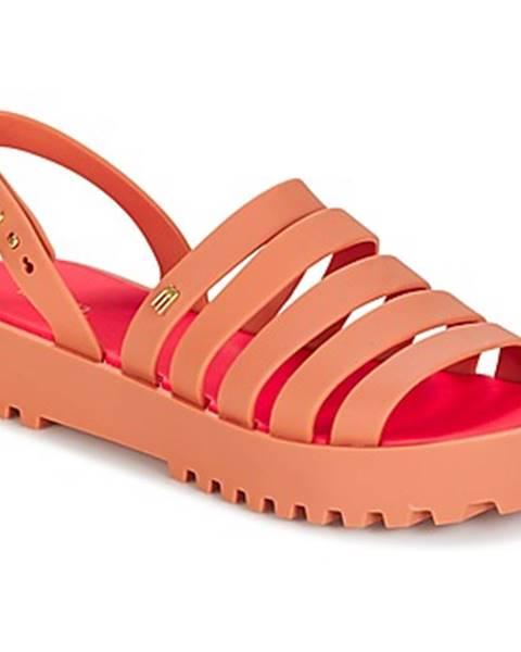 Oranžové topánky Melissa
