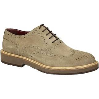 Derbie Leonardo Shoes  852-17 CAMOSCIO FANGO