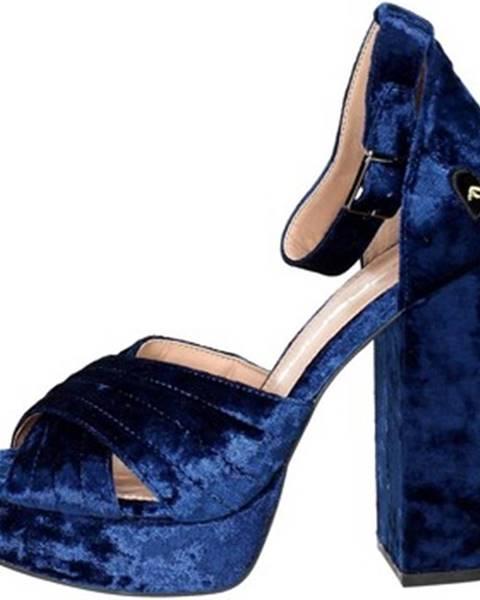 Modré topánky Fornarina