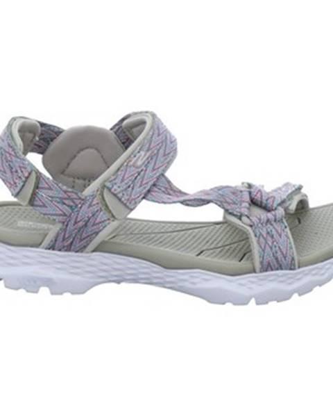 Béžové topánky Skechers