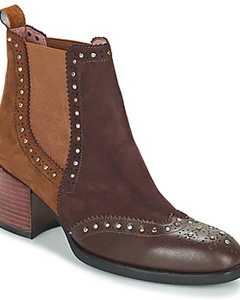 Hnedé topánky Mam'Zelle