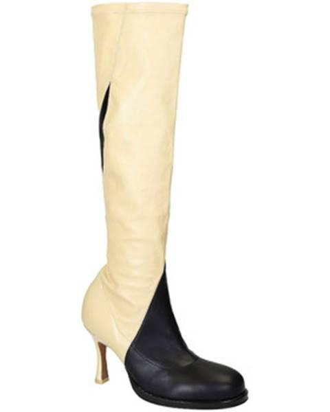 Viacfarebné čižmy Céline