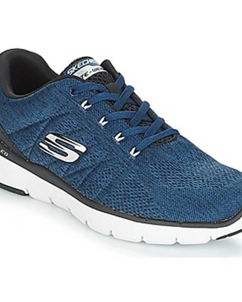 Modré topánky Skechers