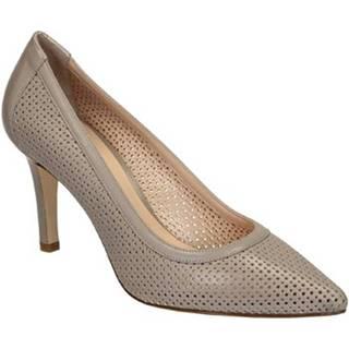 Lodičky Leonardo Shoes  54008 NAPPA CONCHIGLIA