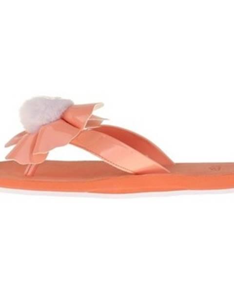 Oranžové topánky UGG