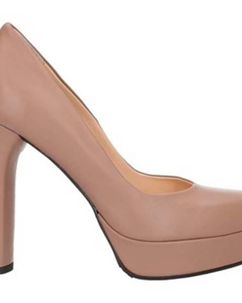 Béžové topánky Andrea Pinto