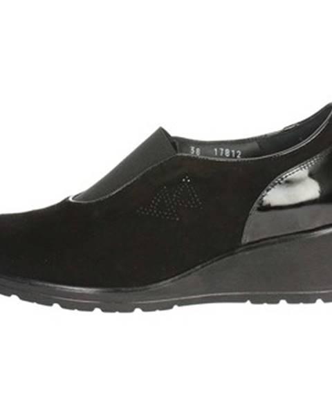 Čierne topánky Valleverde