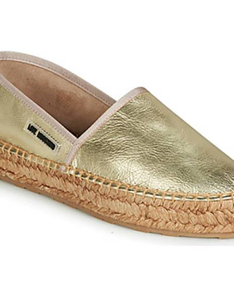 Zlaté topánky Love Moschino