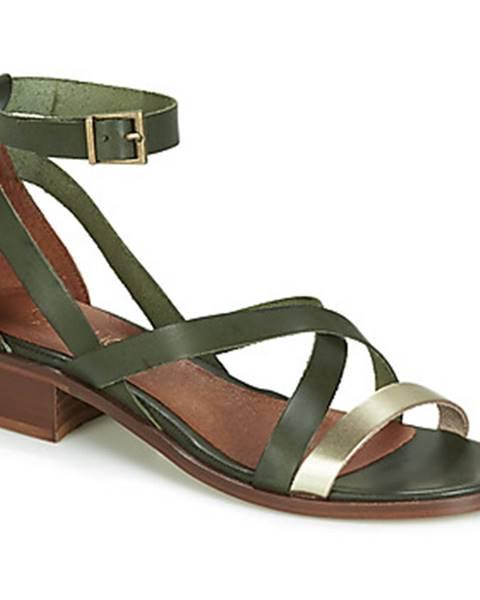 Zelené topánky Casual Attitude
