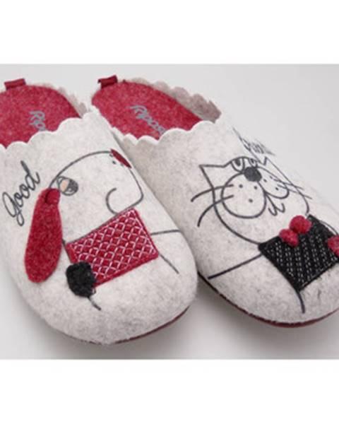 Béžové papuče Riposella