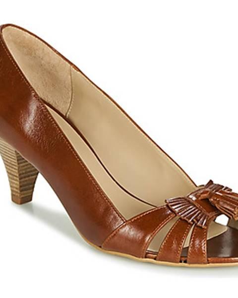 Hnedé topánky Bocage