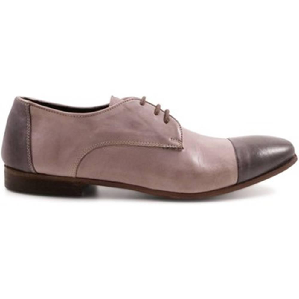 Leonardo Shoes Derbie Leonardo Shoes  2423/4D PAPUA TORTORA-RIP.ANTR.
