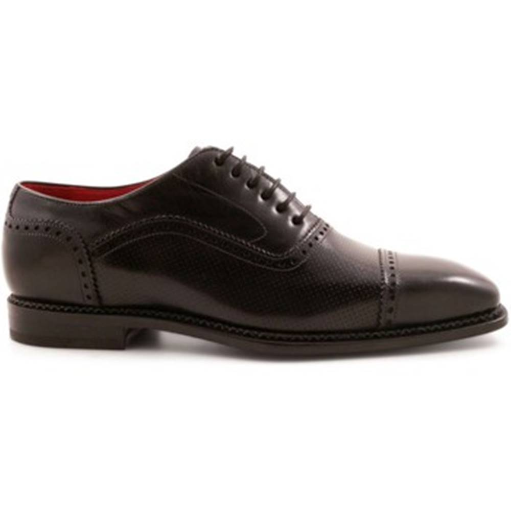 Leonardo Shoes Derbie Leonardo Shoes  5211 NERO