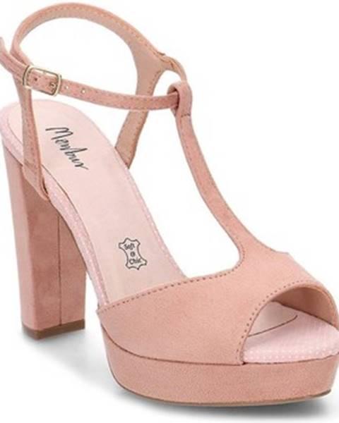 Béžové topánky Menbur