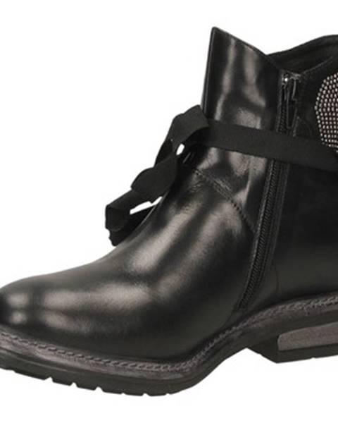 Čierne topánky Poesie Veneziane