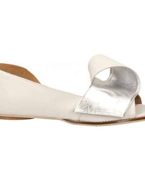 Biele topánky Poesie Veneziane