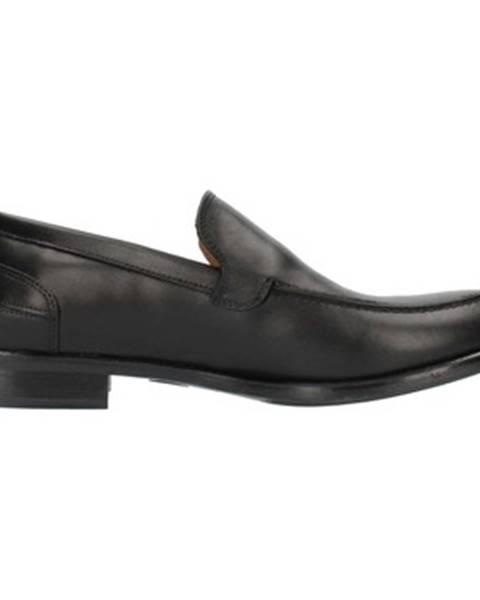 Čierne topánky Sandro Ramadori