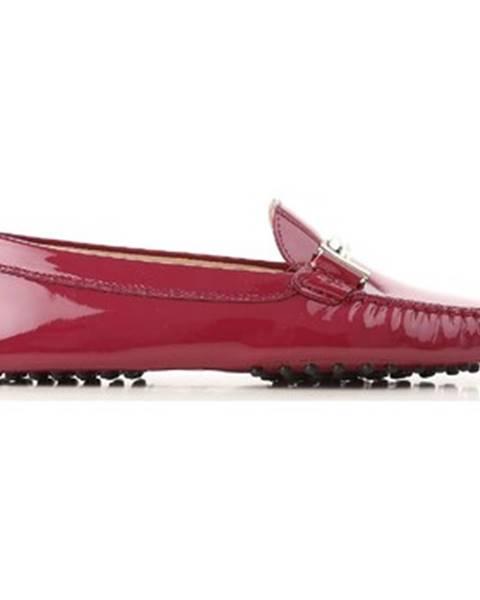 Ružové topánky Tod's