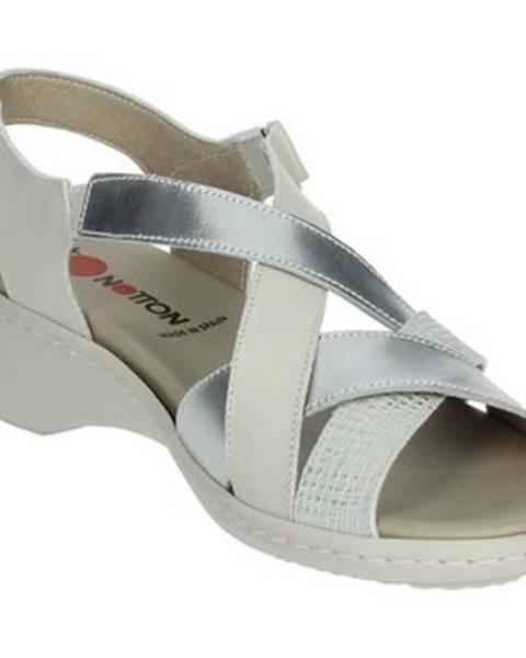 Biele topánky Notton