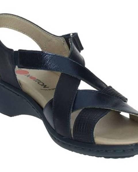 Modré topánky Notton