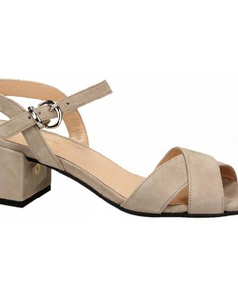 Hnedé topánky Frau