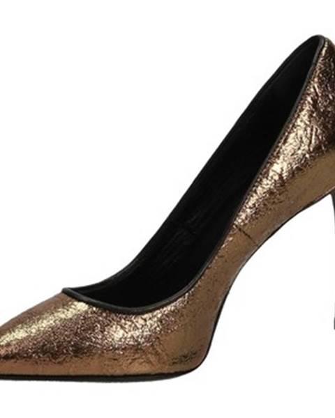 Zlaté topánky Patrizia Pepe