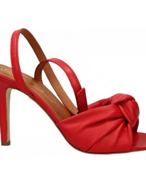 Červené topánky Via Roma 15