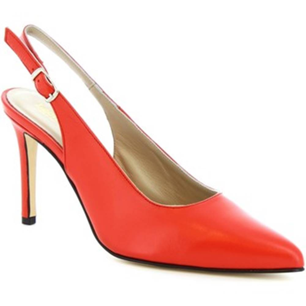 Leonardo Shoes Lodičky Leonardo Shoes  306 NAPPA ROSSETTO