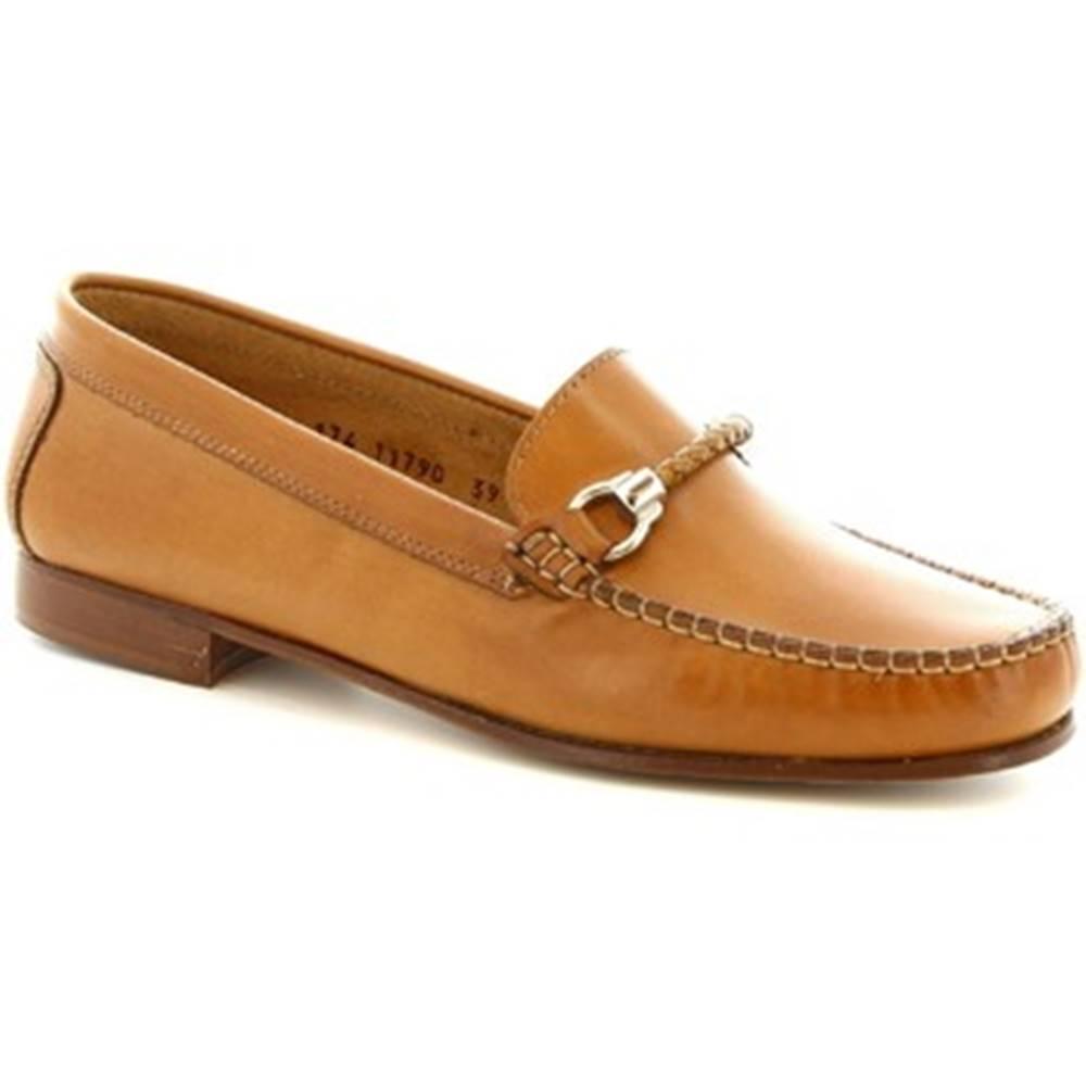Leonardo Shoes Mokasíny Leonardo Shoes  174 INVECCHIATO ART. DASY SPESSORE 1,4/1,6 SELLA
