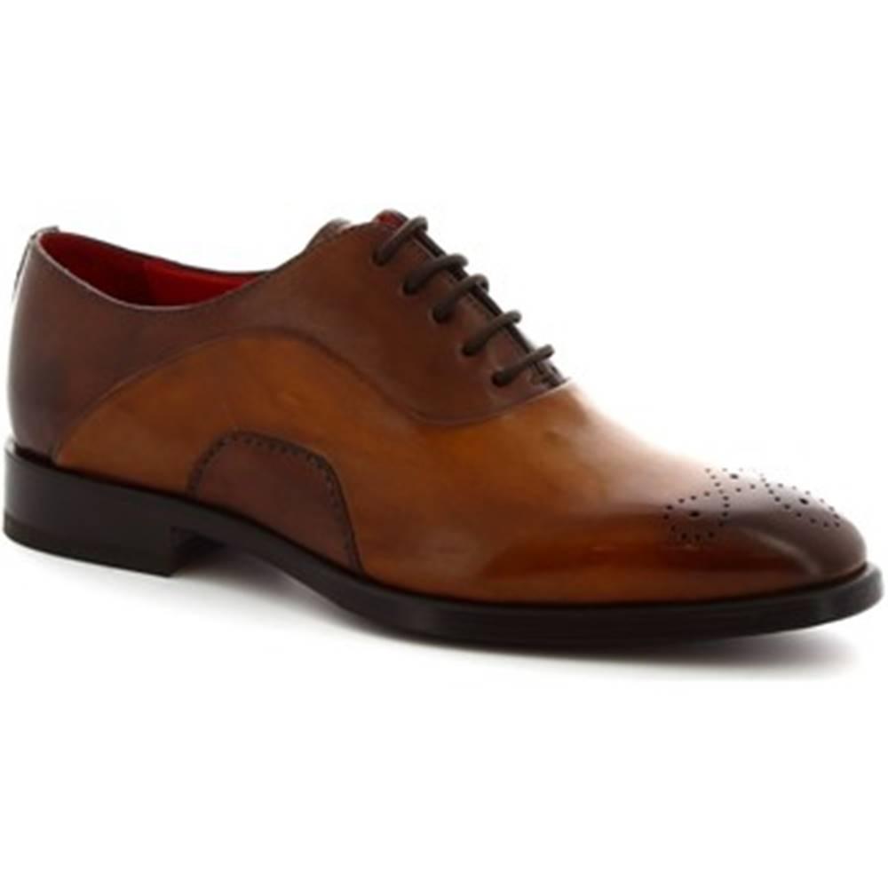 Leonardo Shoes Derbie Leonardo Shoes  8230I18 TOM VITELLO DELAV? SIENA