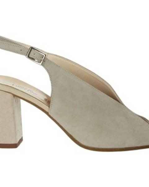 Béžové topánky Linea Uno