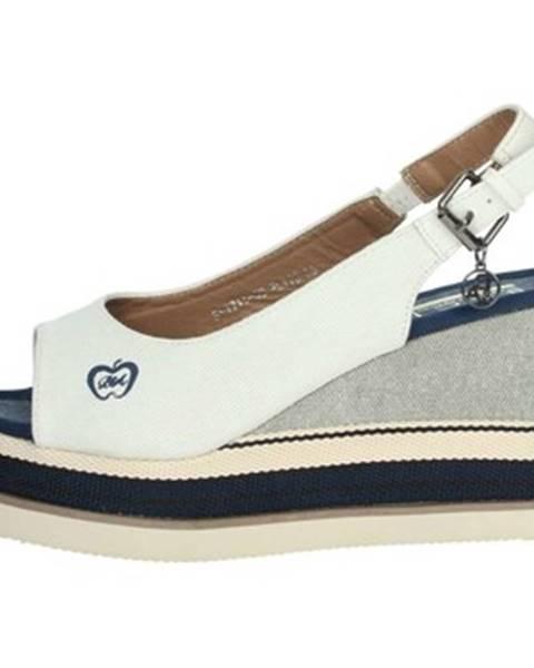 Biele topánky Baci   Abbracci