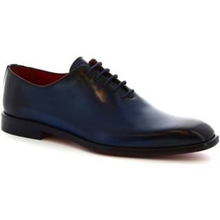 Derbie Leonardo Shoes  990 V.BLU