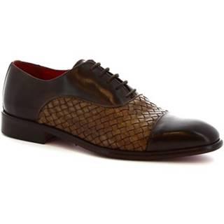 Sandále Leonardo Shoes  188. V. T.MORO INTRECCIATO