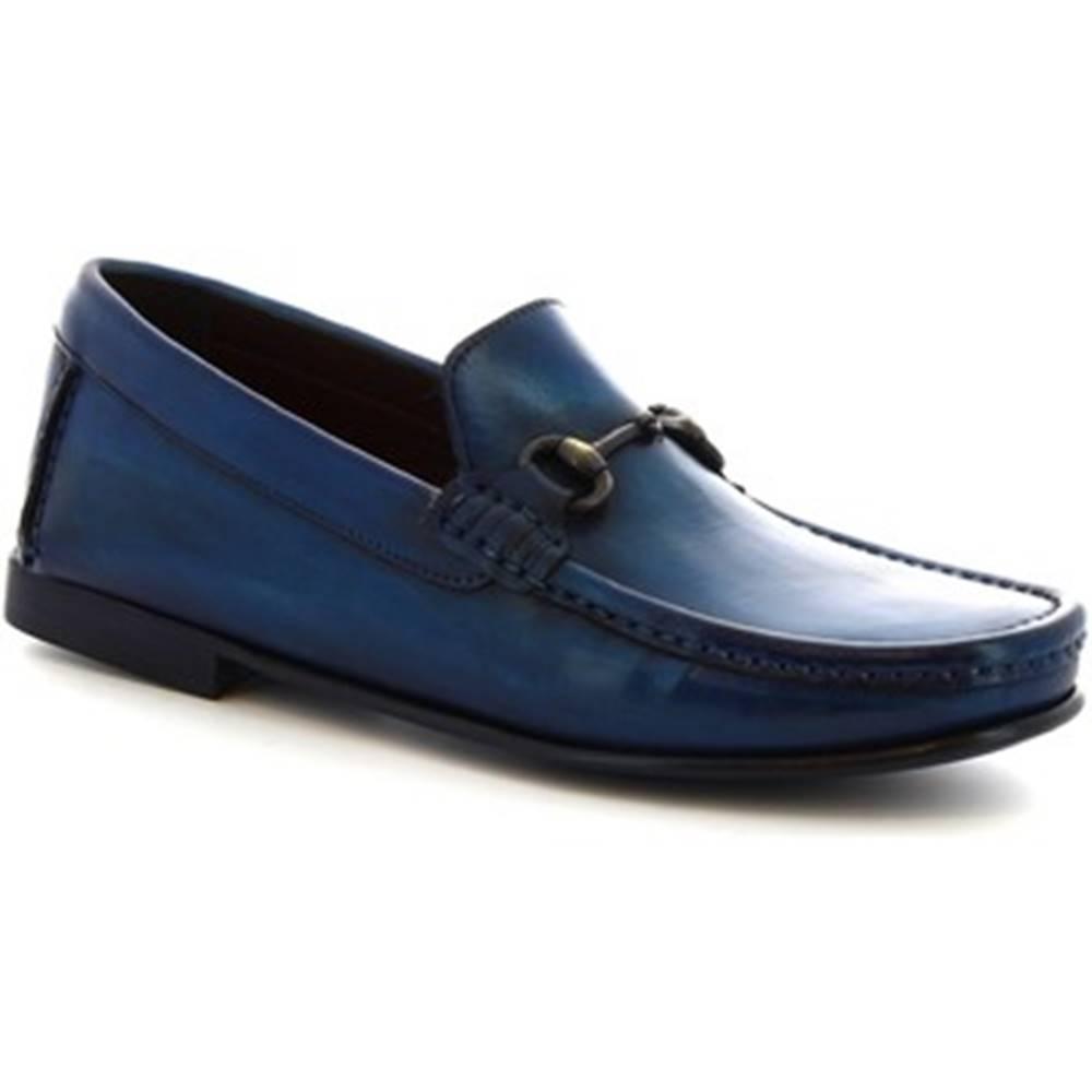 Leonardo Shoes Mokasíny Leonardo Shoes  406 V. BLU