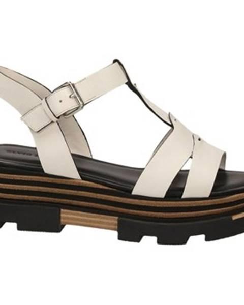 Biele topánky Elvio Zanon