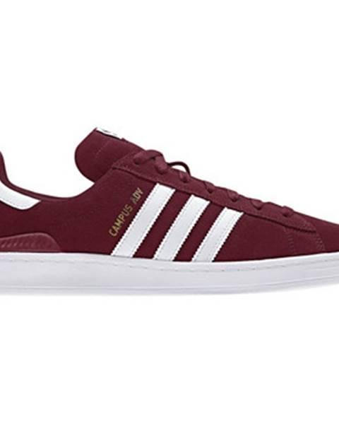 Bordové topánky adidas