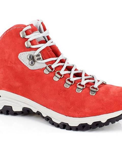 Červené topánky Kimberfeel