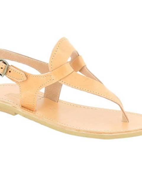 Béžové topánky Attica Sandals