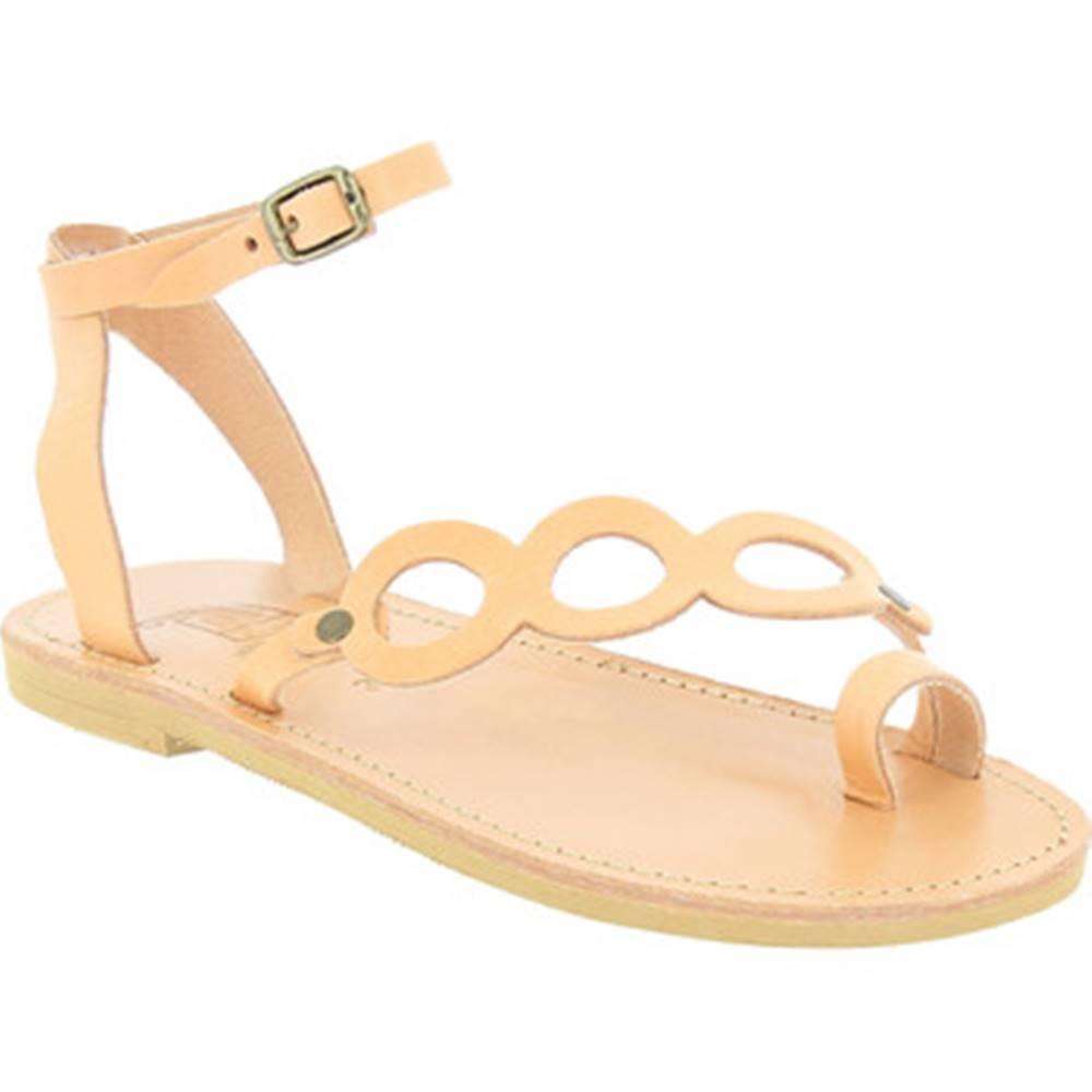 Attica Sandals Sandále Attica Sandals  APHRODITE CALF NUDE
