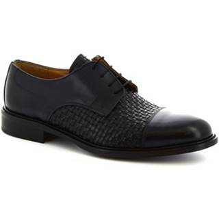 Derbie Leonardo Shoes  912BIS BLU