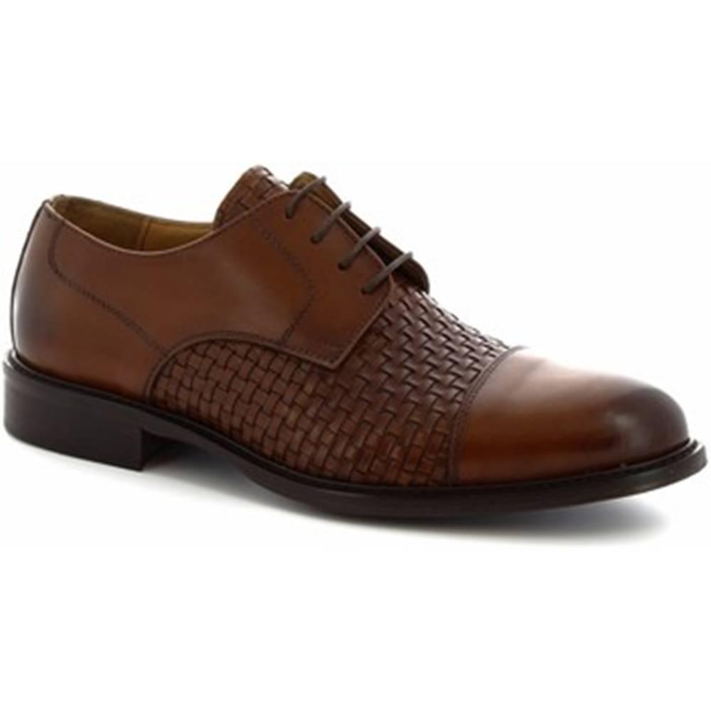 Leonardo Shoes Derbie Leonardo Shoes  912BIS CUOIO