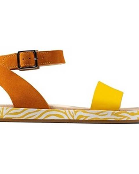 Viacfarebné topánky Clarks