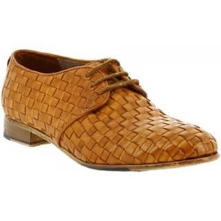 Derbie Leonardo Shoes  32892/1 PAPUA OCRA INTRECCIO