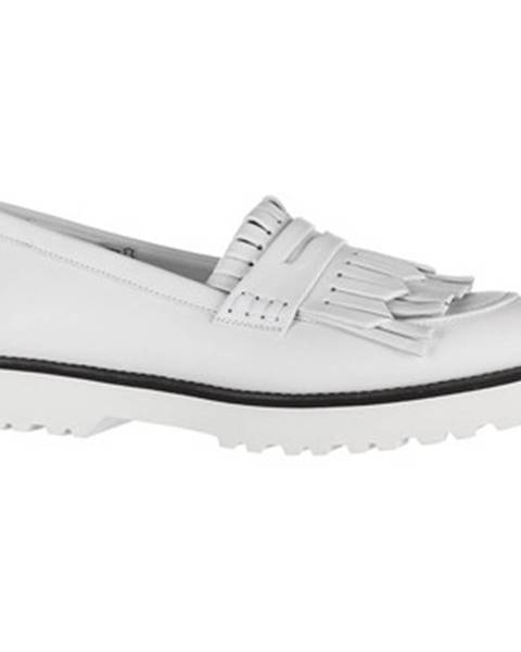 Biele topánky Hogan