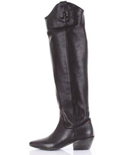 Čierne topánky Parisienne
