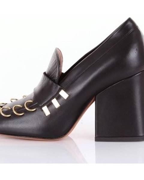 Čierne topánky Marni